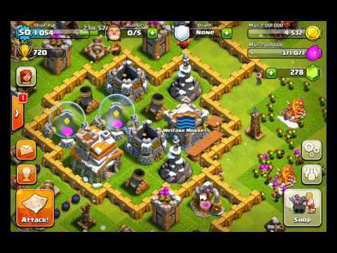 Clash of Clans Defense Strategy - Town Hall Level 7 мастер слова 47 уровень хорошие базы 7 th в игре clash of clans